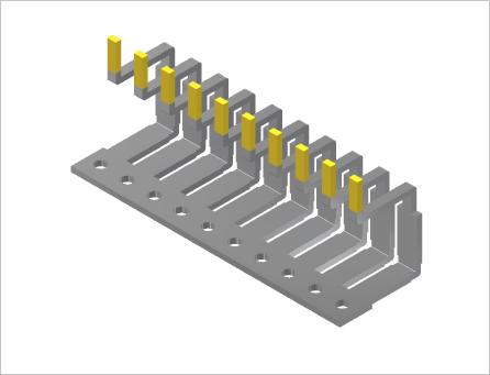 パワー半導体端子(プレス&表面処理)
