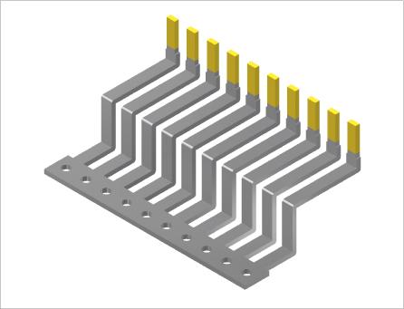 パワー半導体端子(プレス&表面処理)2