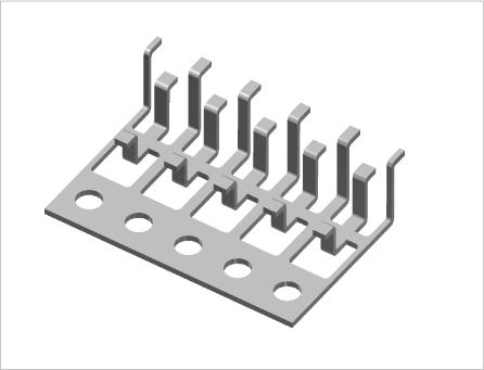 ダイオード用端子・接続子(プレス&表面処理)1