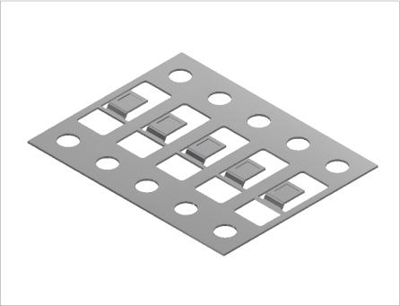 ダイオード用端子・接続子(プレス&表面処理)2