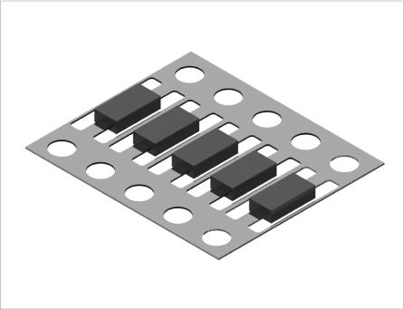 ダイオード用端子・接続子(プレス&表面処理)3
