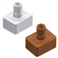 二次電池用 電極正極端子/負極端子/封止ピン